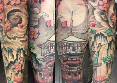 pagoda orietal.kuronekottattoo.